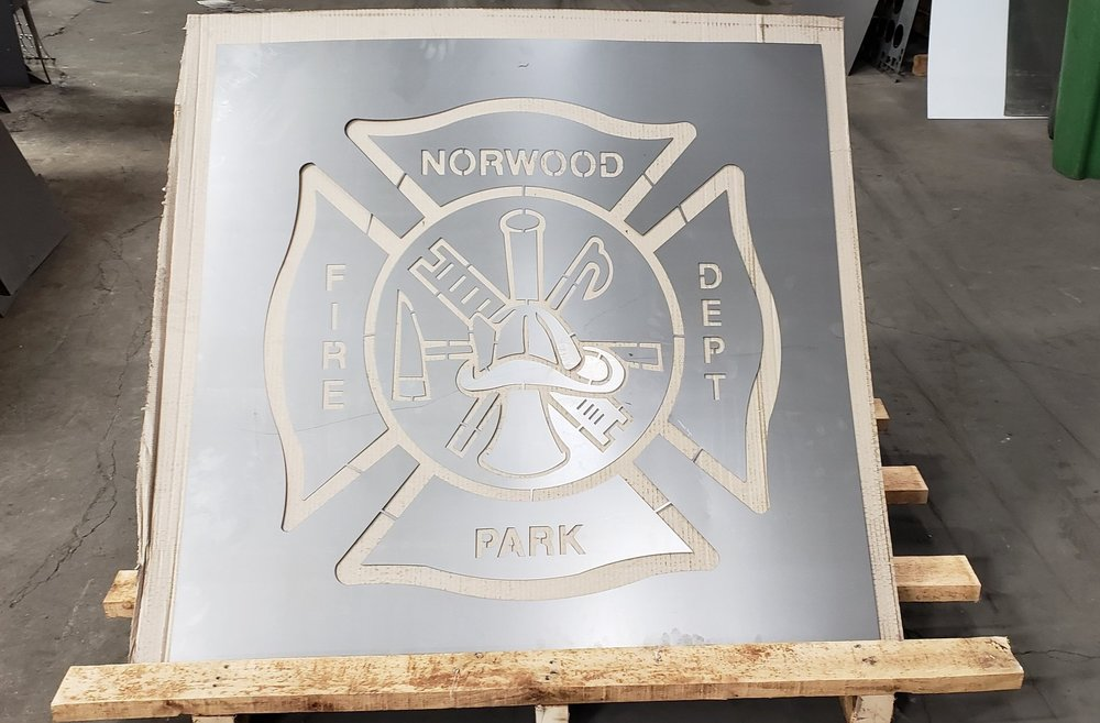 4' x 4' NORWOOD PARK FIRE HOUSE