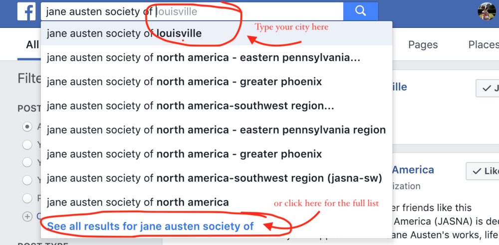 how to find Jane Austen Groups.png