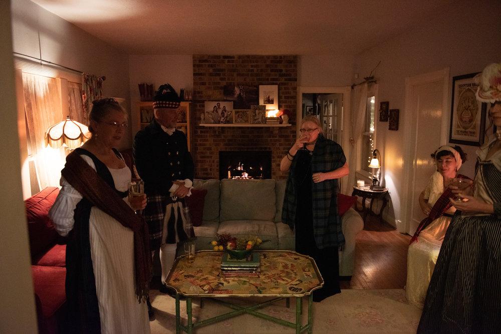 Burns supper 2019 Regency Era Scottish History Robert Burns