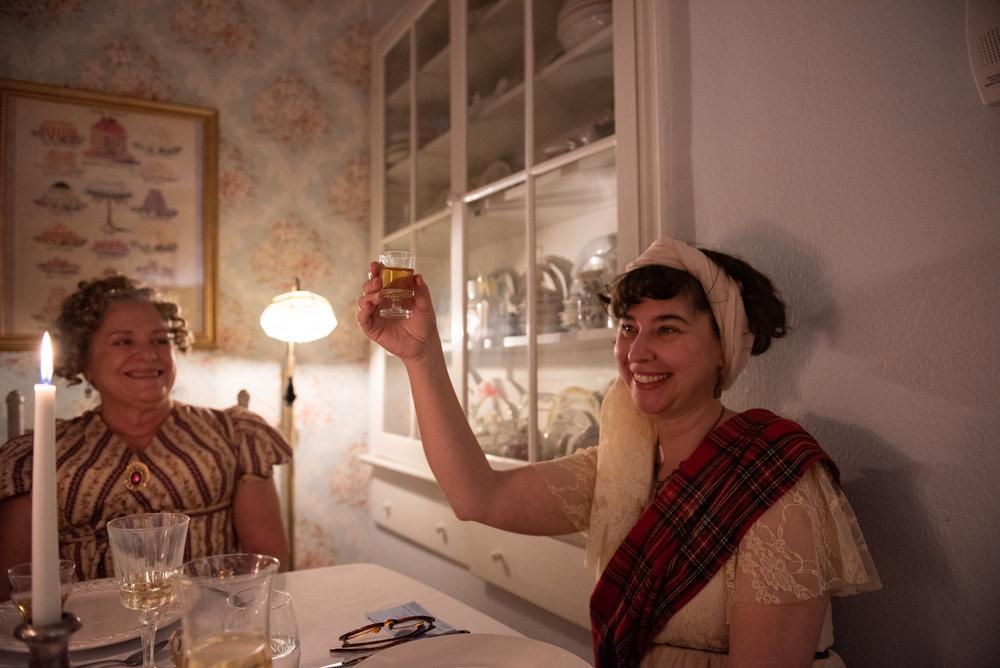 Burns Supper 2019 Scottish history Regency Era whiskey toast