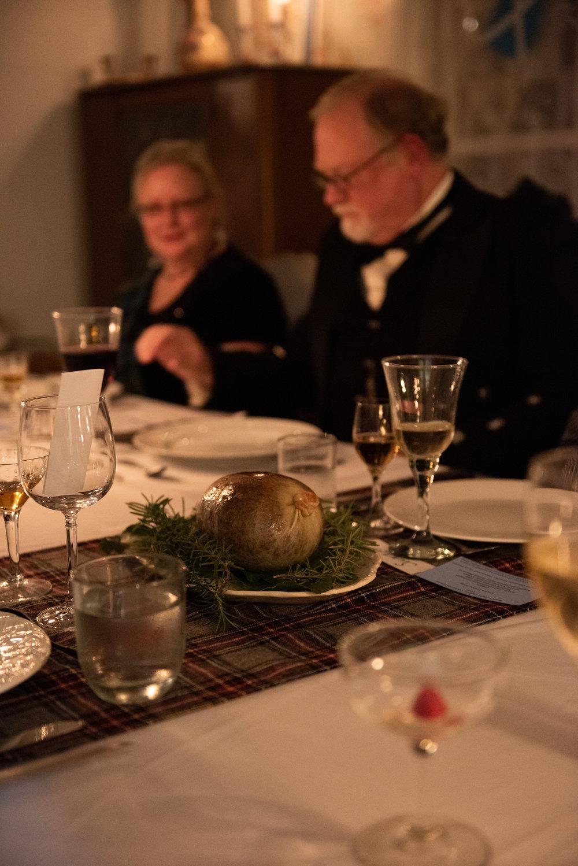 scottish haggis burns night supper regency era