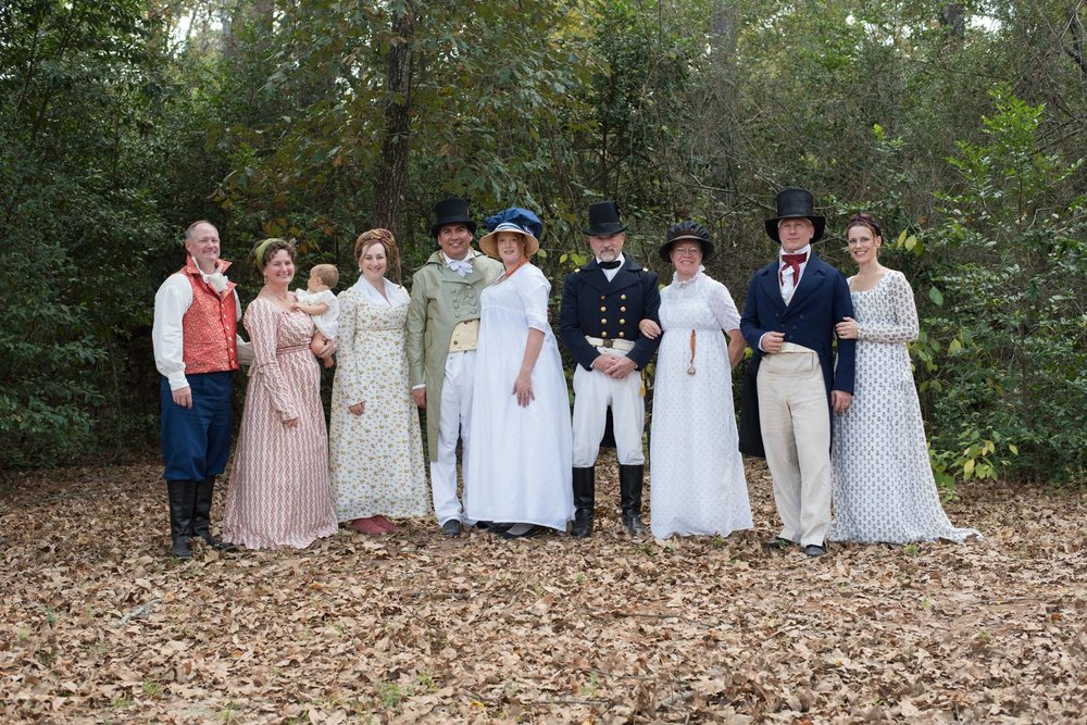 Houston Area Regency Society Jane Austen Picnic