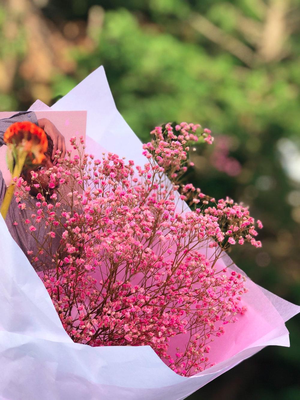 Abonnement Monofleur - Bouquet composé d'un seule variété de fleurs. A partir de 26,91€/moisLivraison comprise