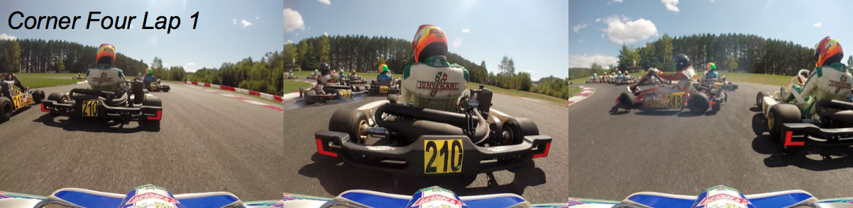 2014 Canadian National Karting Championship Final Race - Corner 4, Lap 1