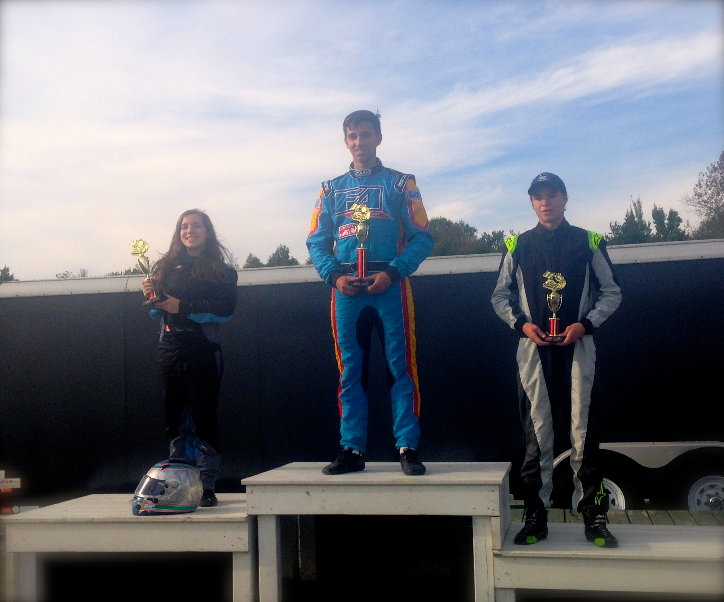 Finished P2 and on the podium in my first Rotax Senior race