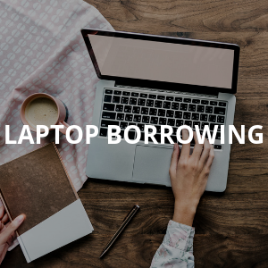 Laptop Borrowing at Ramsey Library