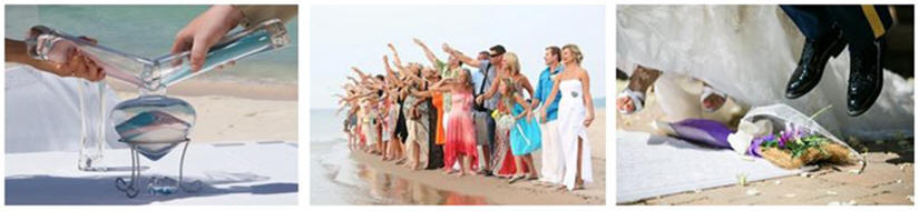 Florida Beach Wedding Custom Ceremony