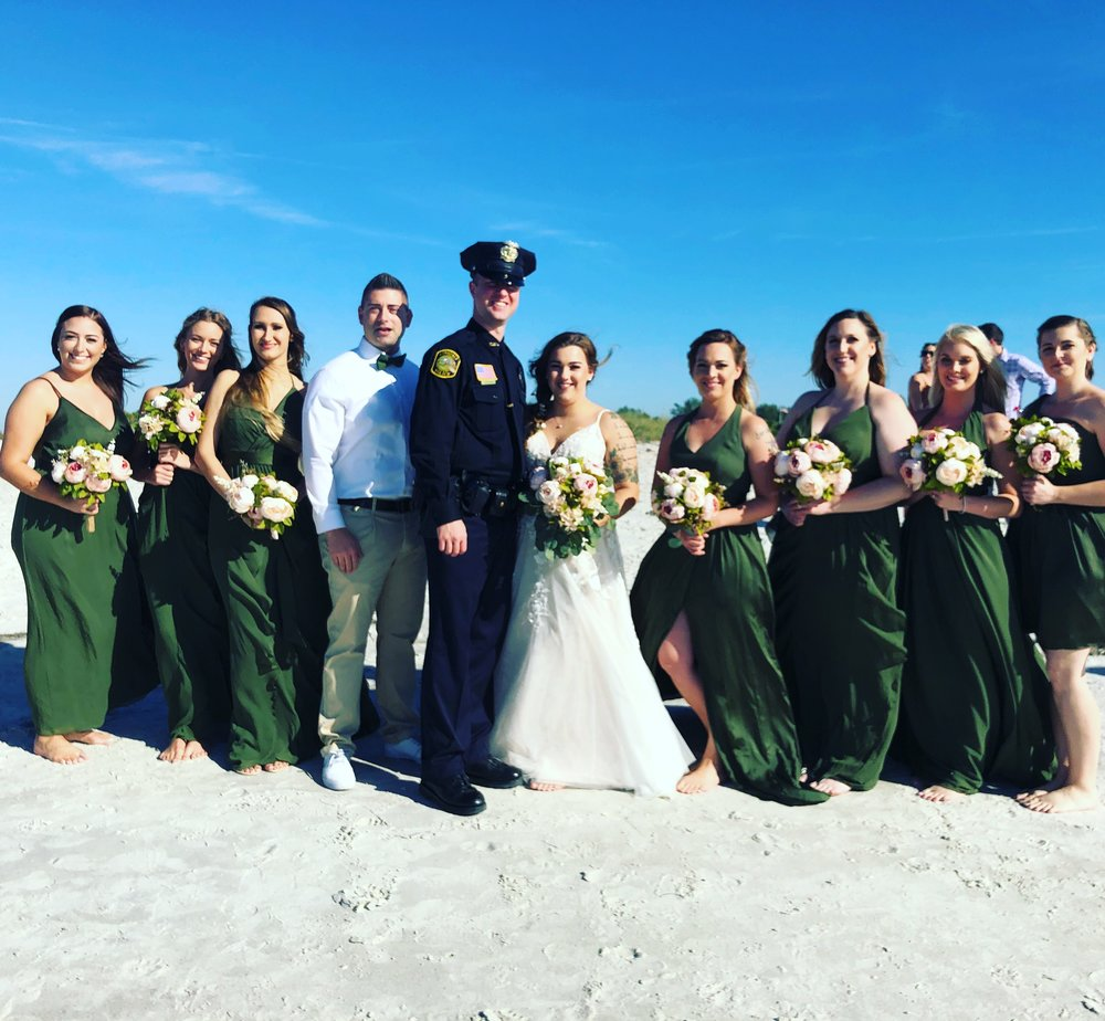 Welcome to Florida Sunset Beach Wedding -