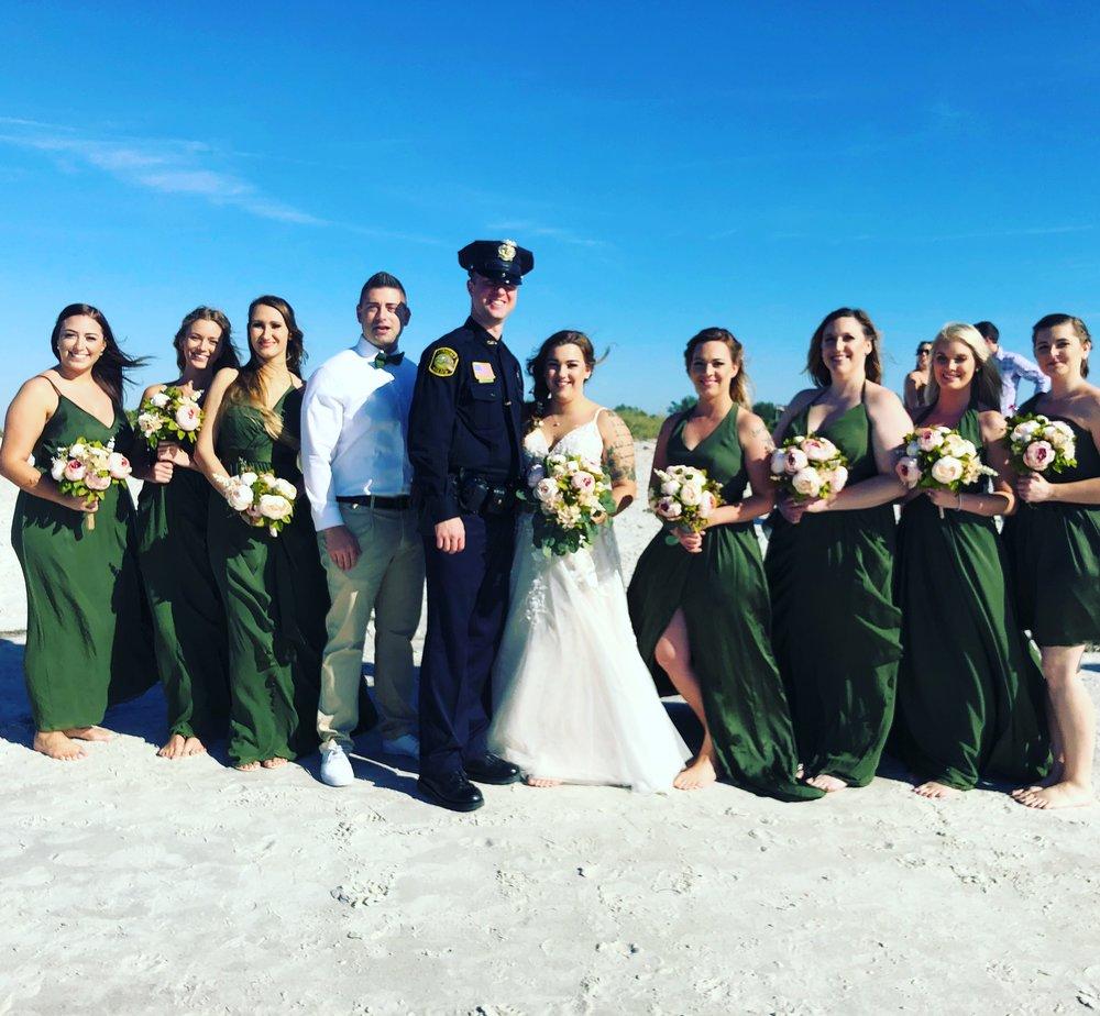 Welcome to Florida Sunset Beach Wedding -
