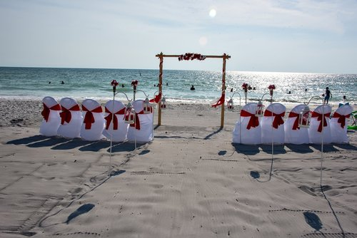 Florida Sunset Beach Wedding