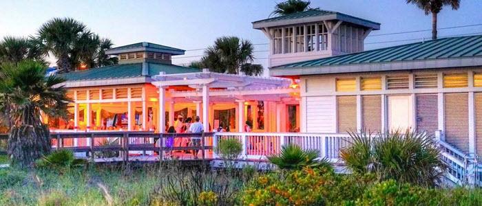 Treasure Island Reception Florida Sunset Beach Wedding