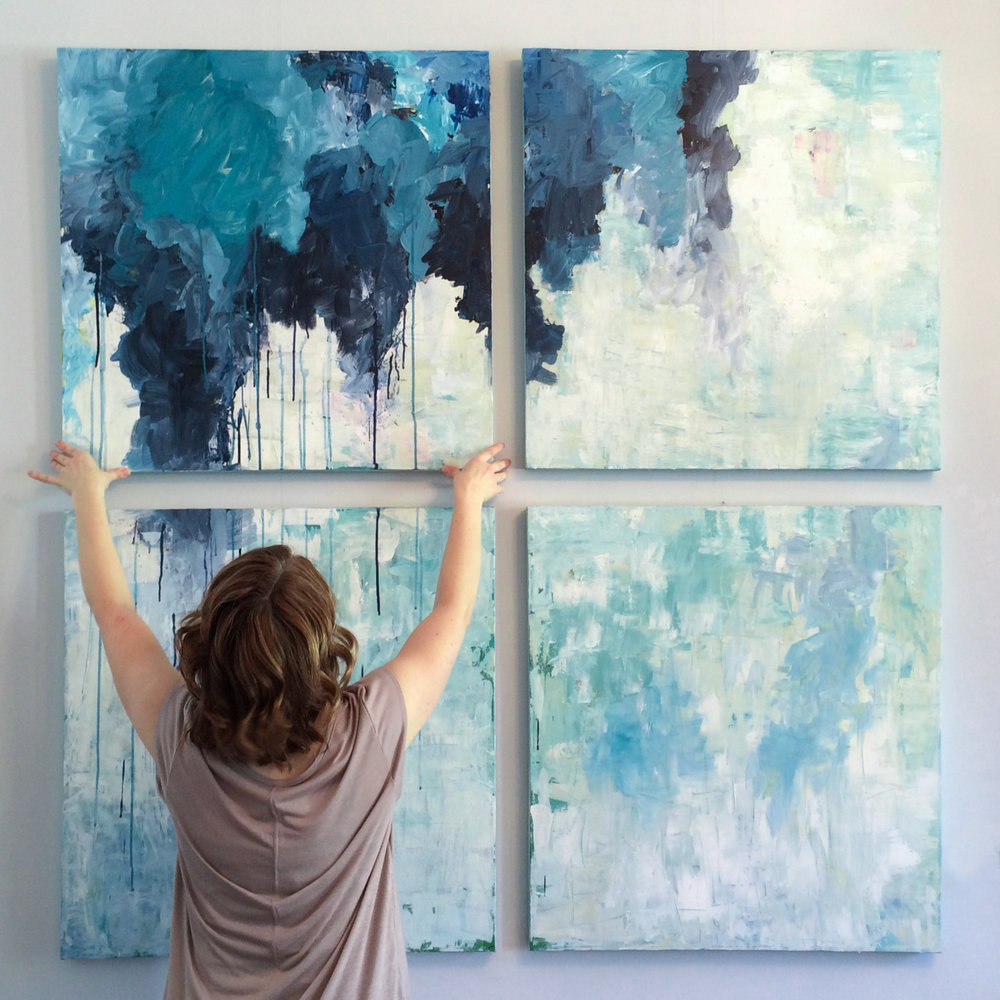 JULIE BRETON - Artist, Fine Art PainterThis artful website makes a big impact with full width photo galleries, a colouful blog, e-commerce capability and instagram studio updates.