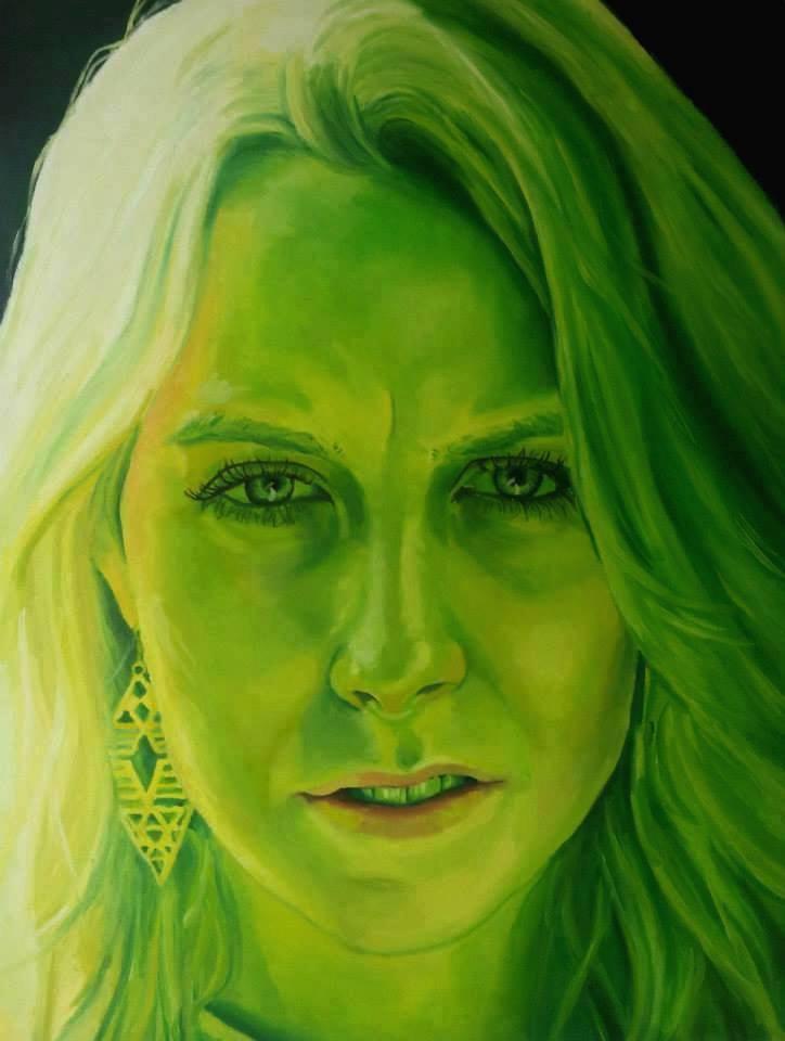 Invidia,  oil painting by Jason Nunn (Suffolk, UK)