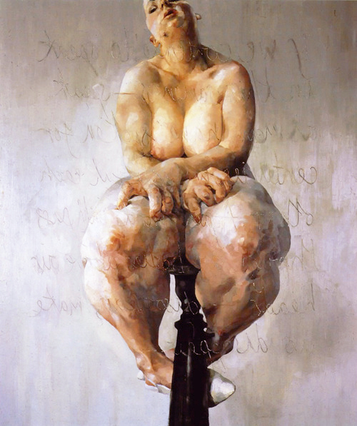 Jenny Saville's  Propped  sold for £8.25 million in 2018