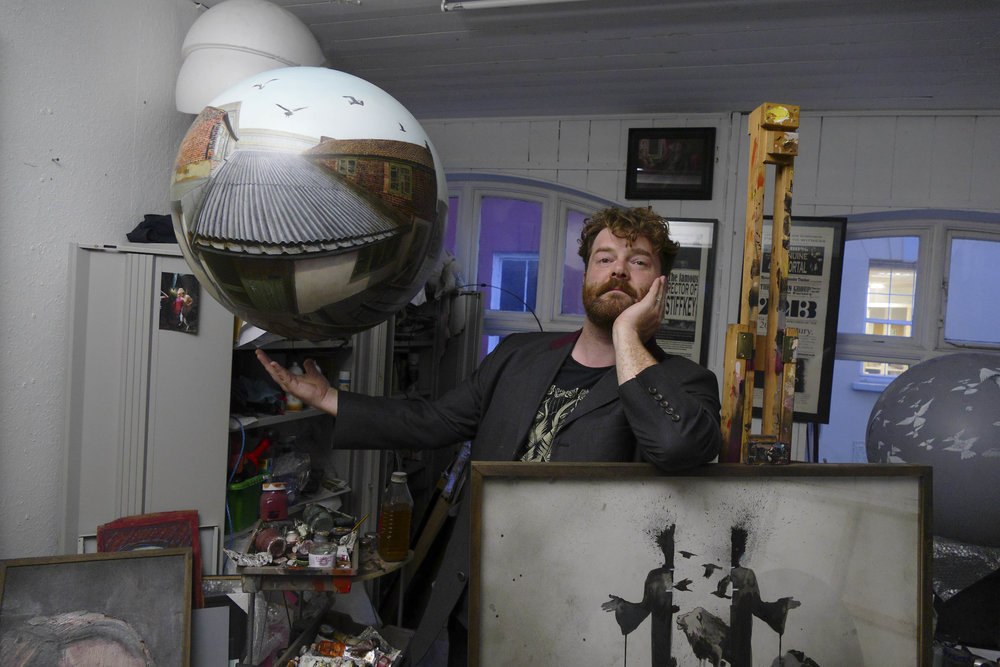 Will Teather in his studio at Muspole Workshops, Norwich.jpg