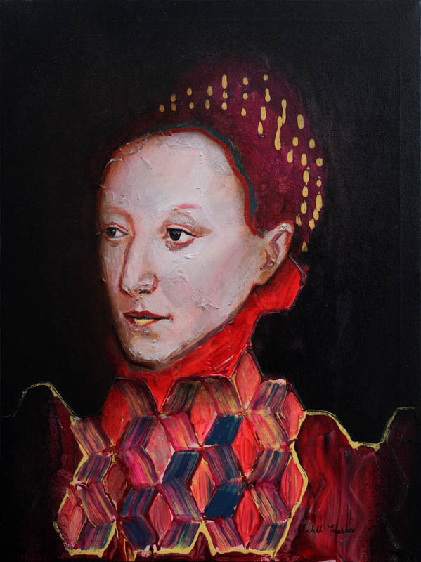 Elizabeth I of England (after English School)  - Oil on panel - 45.6 x 60.9cm - £650
