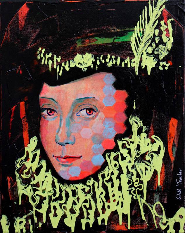Elizabeth Knollys (after Gower)  - Oil on canvas - 40.5 x 51cm - £595