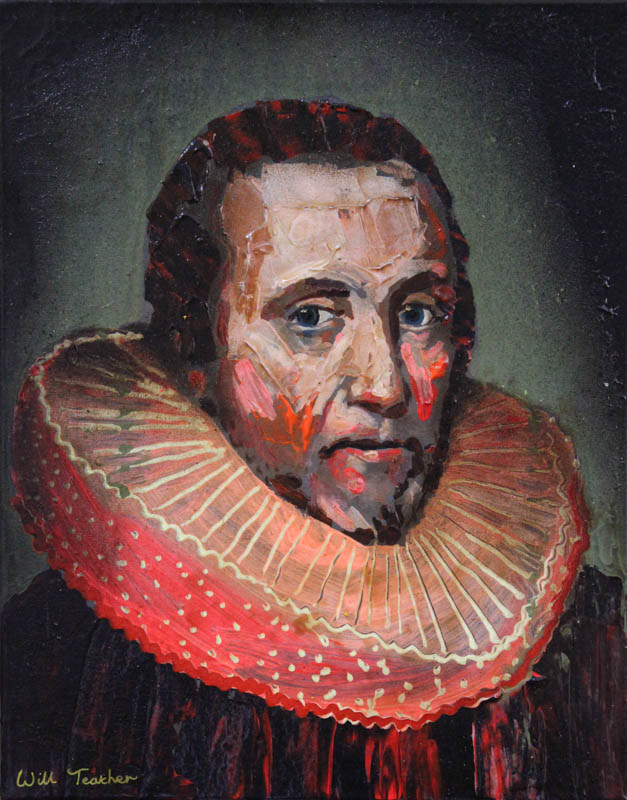 Sir Robert Heath (after Van Ceulen)  - Oil on canvas - 28 x 35.6cm - £475