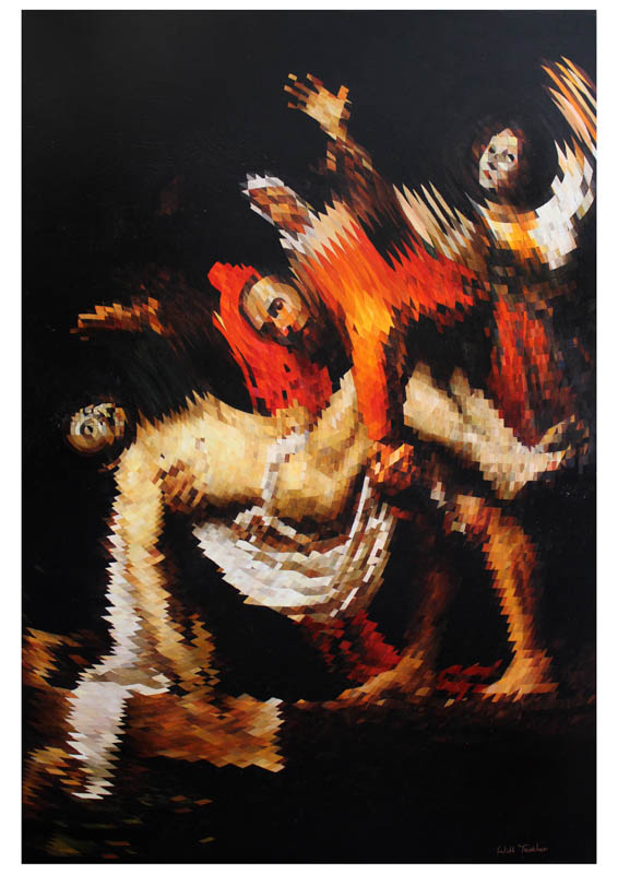 Deposition from the Cross  - Signed Limited edition print - 42 x 59cm - £250 framed