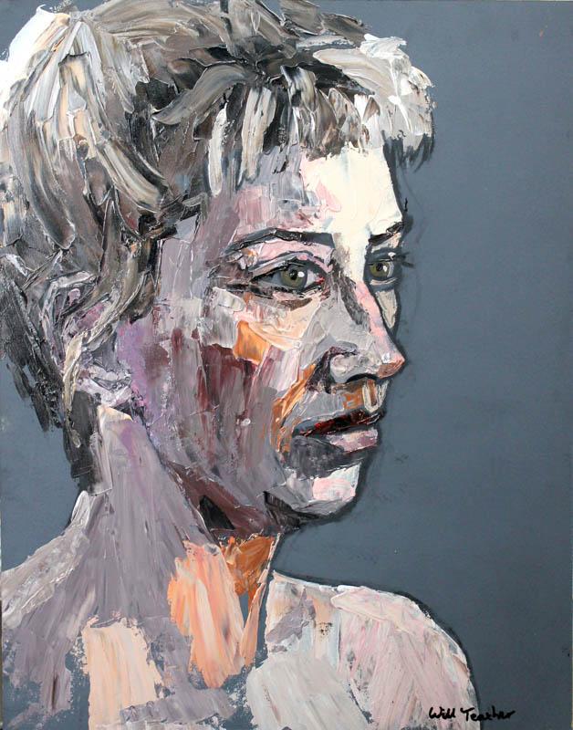 Contemplation  - Acrylic on board - 51 x 65cm - £675
