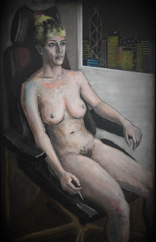 Hong Kong  - Oil on canvas - 76 x121 - £1750