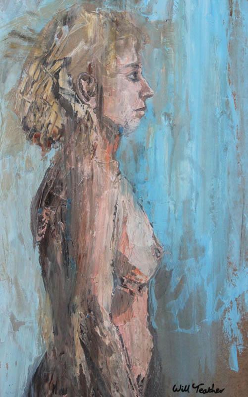 Life painting  - Acrylic on panel - 34.8 x 55cm - £575