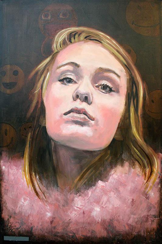 Candycrush  - Oil on canvas - 76 x 51cm - £1750