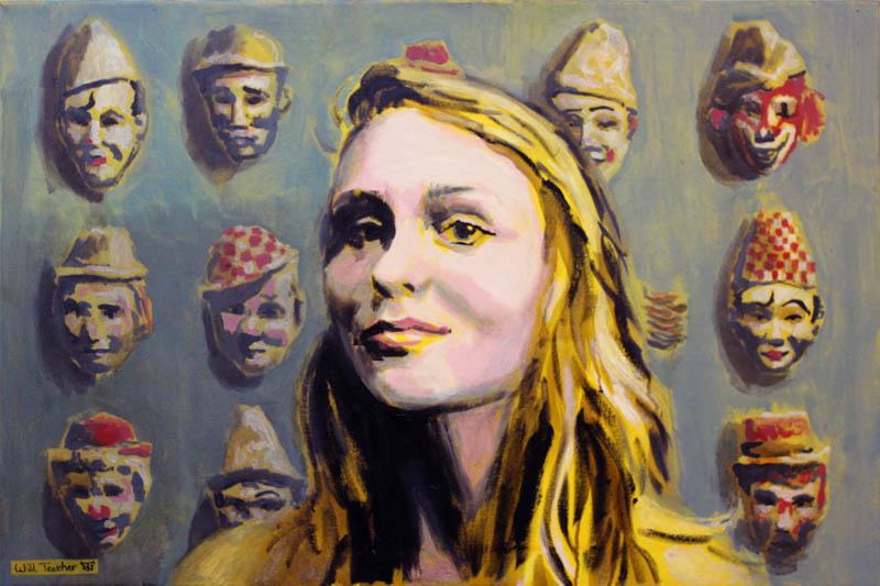 Faces of the Hippodrome  - Oil on canvas - 51 x 76cm - £2000
