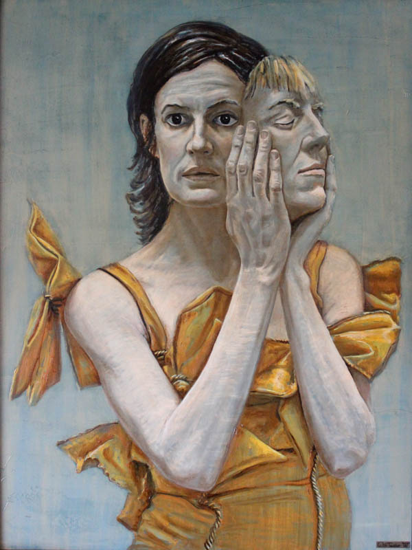 See Her Faces Unfurl  - Oil on canvas - 91 x 121cm - £5000