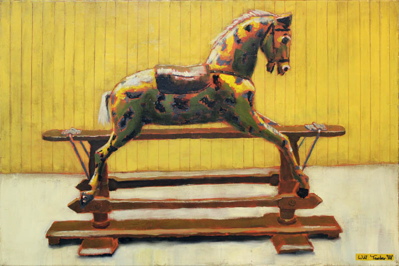The Horse at Strangers Hall  - Oil on canvas - 51 x 76cm - £1950