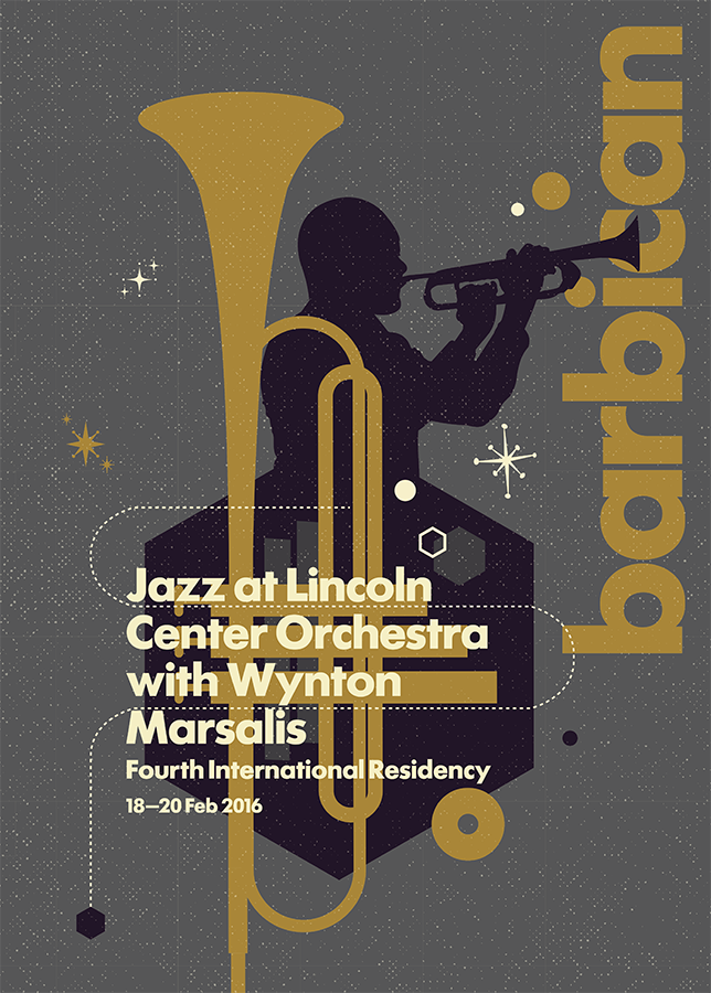 Barbican Centre Jazz Poster
