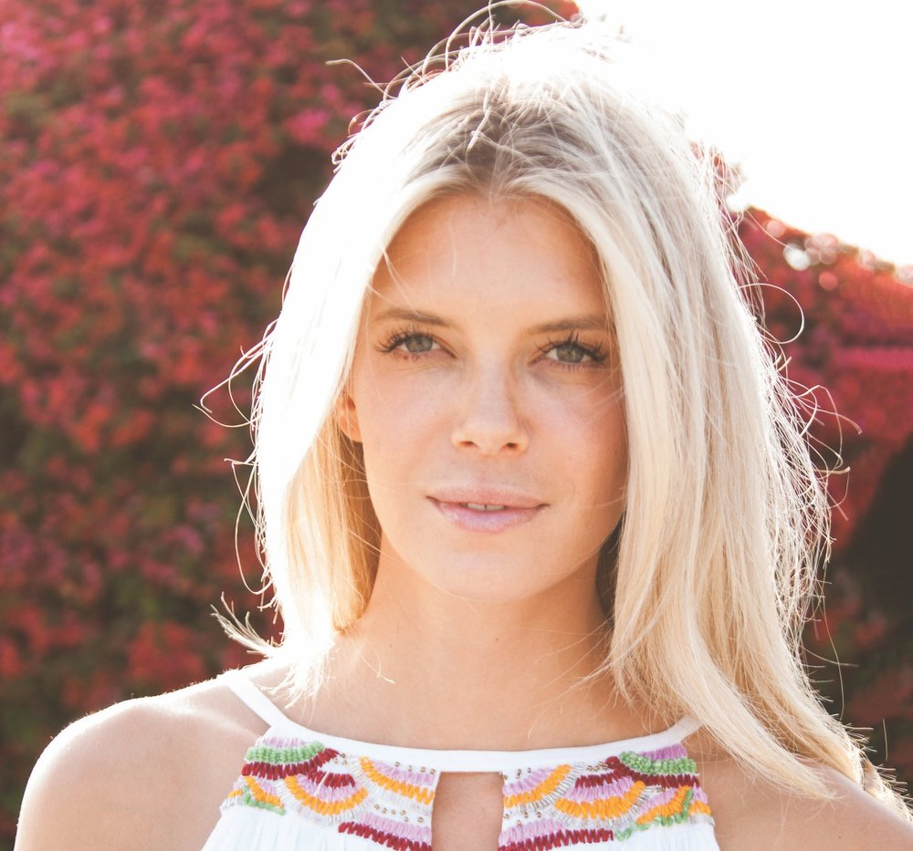 NIKKI SHARP , wellness expert, vegan chef, and frequent face on  Access Hollywood  and  Extra