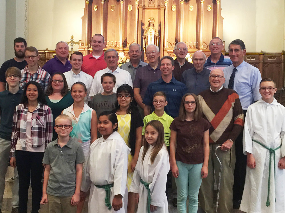 SACRED HEART parish - We have served the people of Moline for 122 years and enriched our community with beautiful liturgies, life-changing ministries and inviting fellowship opportunities.