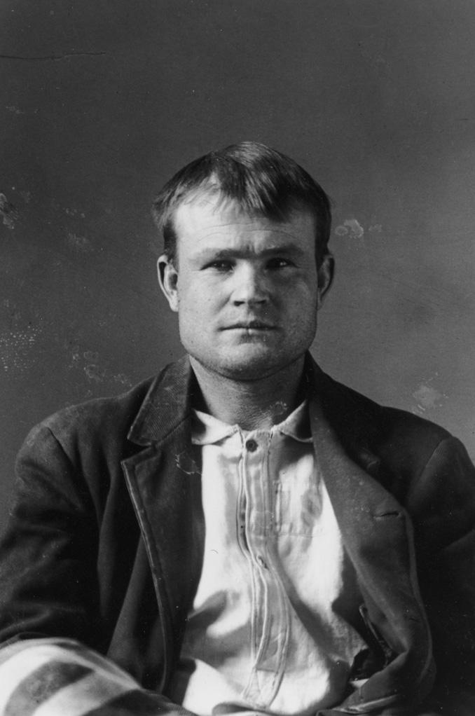 Robert LeRoy Parker alias Butch Cassidy 1894
