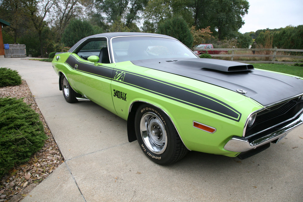 1970 Dodge Challenger Ta Rays Restored Classics