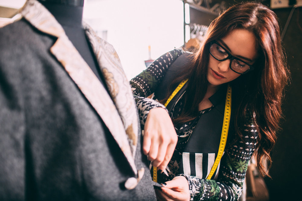 TURNING YOUR EDUCATION INTO A CAREER - FASHION DESIGNERPATTERN MAKERSAMPLE SEWER