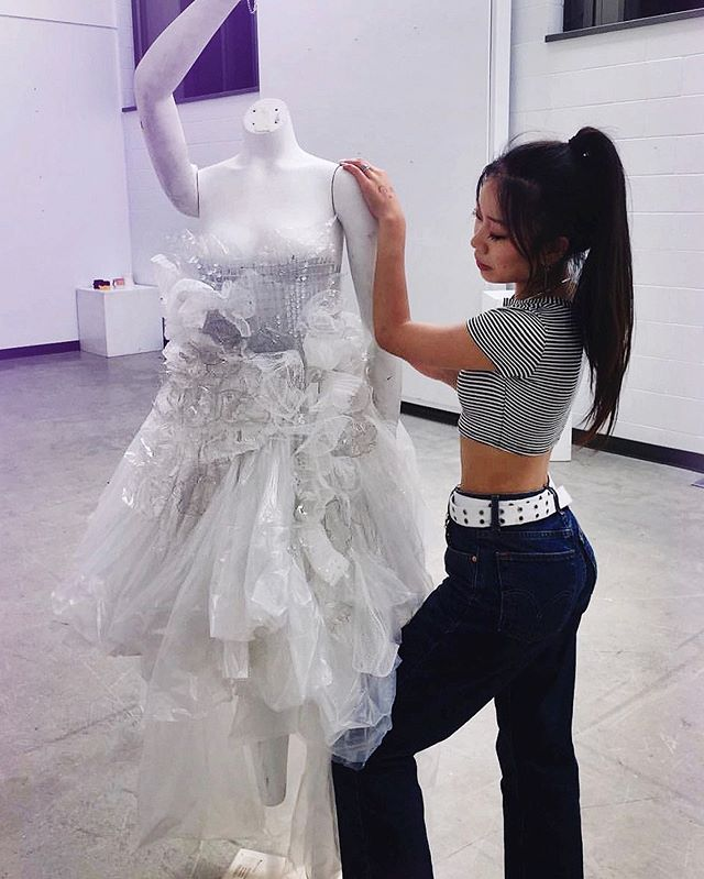 This is one of our former students Shirley with one of her Portfolio Preparation projects that got her into @parsons_fashion! Did you know that we have a 100% success rate of getting our Portfolio Preparation students into the fashion school of their dreams? For more info check out our website, link in bio! . . . #thecutfashionacademy #thecutfashiondesignacademy #fashionschool #fashiondesign #fashiondesignschool #sewingproject #sewinglessons #parsonsschoolofdesign #vancouverfashion