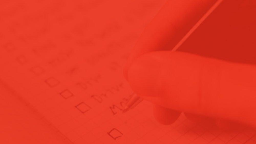 - checklist leadin