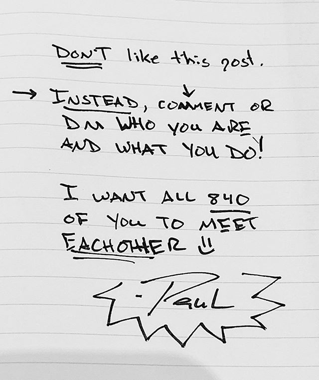 Don't like this post. I want to refresh our connection! Comment or DM and tell me what's up with you right now. I'd also like to see all 800+ of you get to know and be encouraged by one another 💥 . . . #connection #human #instagram #socialmedia #friends #encouragement #wednesday #wednesdaywisdom #community #synergy #leverage #gratitude #positivity #encouragement #fire #ideasworthsharing