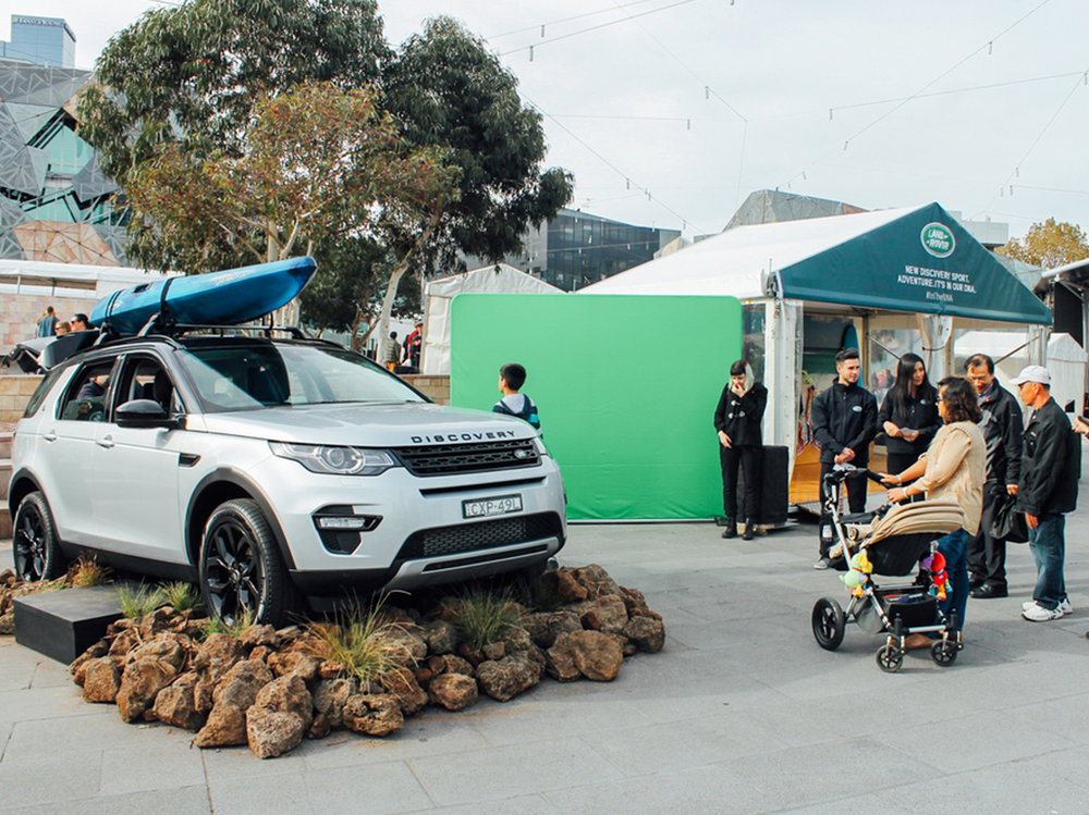 Land Rover   In the DNA Activation