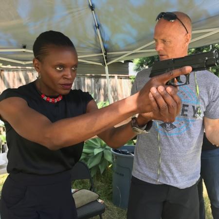 Okwui and Nils Carson