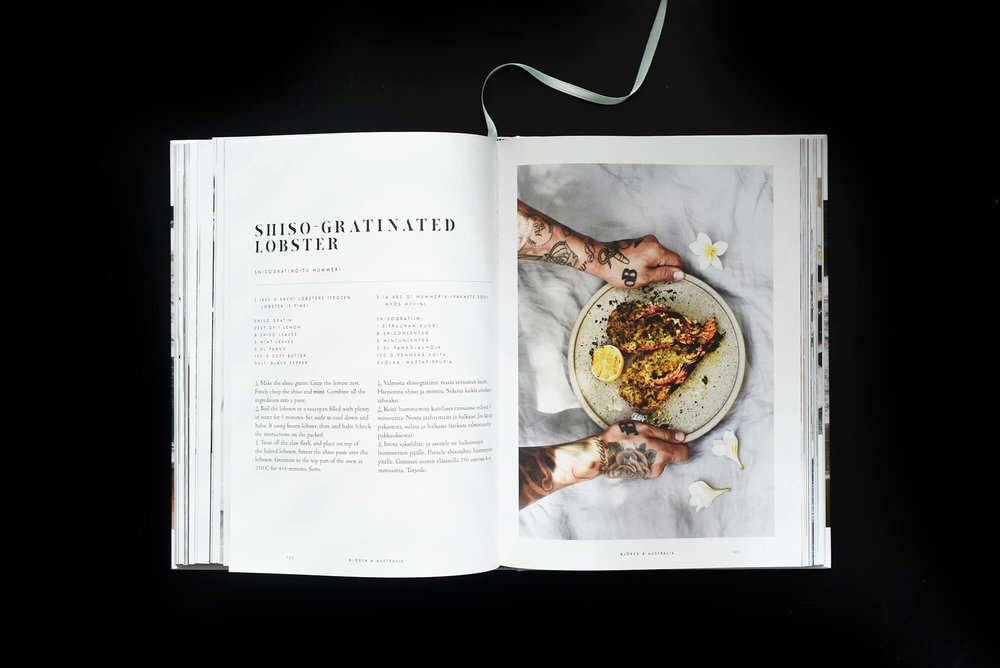 Home-cooking inspired by life -