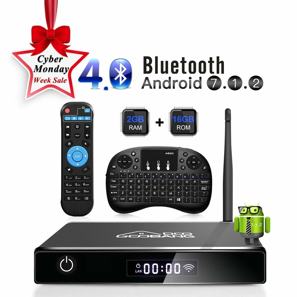 GooBang Doo XB-III Android 7.1 TV Box -