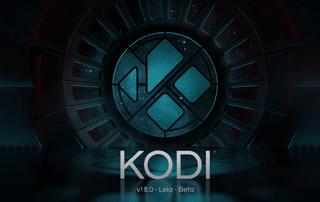 """KODI v18 """"Leia"""" RC 3 - 64bit"""