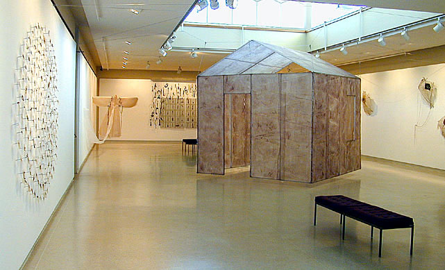 41.5 Tenant artist Maddy Le Mel exhibiting at the Skirball Museum.JPG