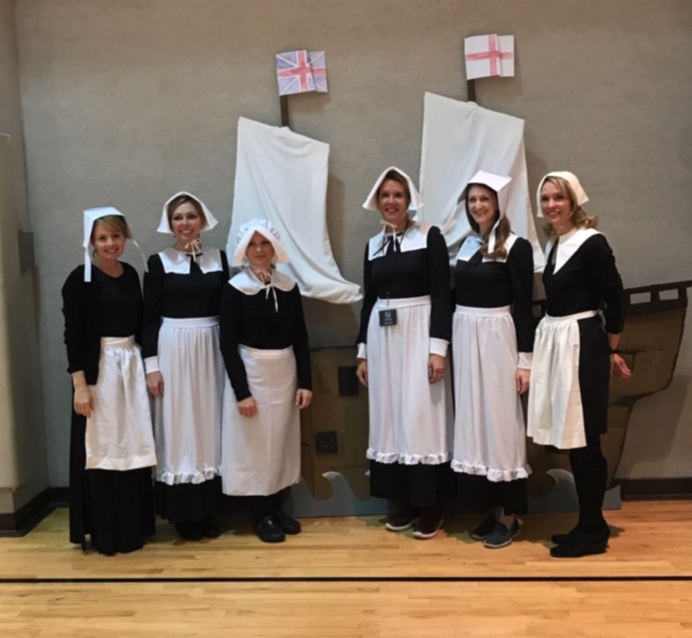 The Thanksgiving play and luncheon is a great way for Highlands families to fellowship and spend time with their students during a school day.