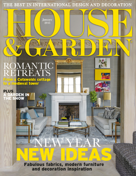 House and Garden, Jan 2015 -