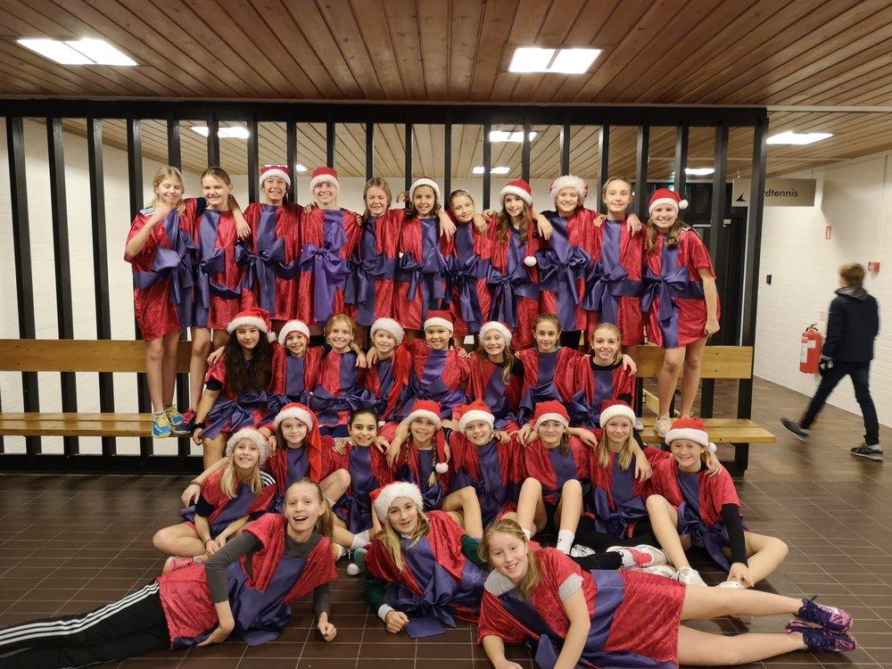 U12 Piger til årets jule-five-a-side