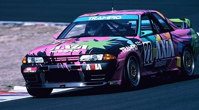 This GT-R from the '92 Japanese Touring Car Championship is something else! . May 18th we are bringing the rad back to racing at @hyperfest ! Who will we see there? . #Breakfastclubmotorvice #MotorVice #MotorViceShow #Hyperfest #gtr #r32skyline #nissanracing #nissan #raceday #trackday #virginainternationalraceway