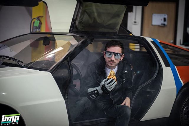 Power glove + time machine steam + @dominos Delorean + actual 80s dominos pizza = winning MotorVice . Totally awesome to the max car, totally awesome to the max pic by @bmptuning . The owner of this Delorean @pandyaparty , just made sure we have a huge supply of Pop Rocks to give out for FREE at our May 18 Breakfast Club MotorVice at VIR @hyperfest  and our September 14 MotorVice Midwest II Show. Be immersed in the nostalgia with us at MotorVice!! #delorean #dmc12 #dominosdelorean #pizza #80saesthetic #za #powerglove #80sparty #motorvicesouth #motorvice #motorviceshow #rad #totallyawesometothemax #future #backtothefuture #80s #synthwave #carshow #djek #motorviceprep